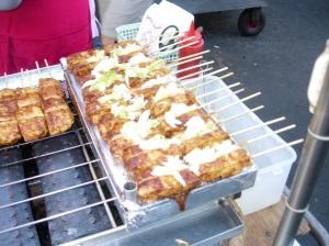 Stinky Tofu, a popular night market treat