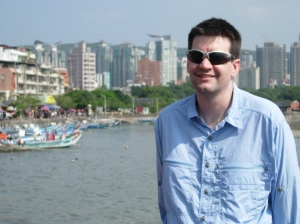 Along the river in Danshui