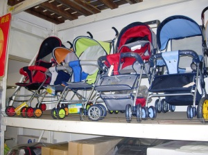 Strollers at RT Mart